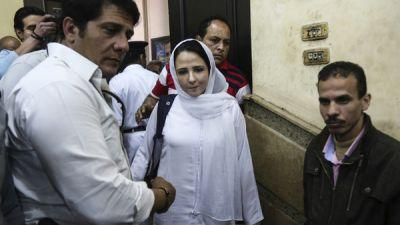 Egyptian-American Aid Worker, Released From Cairo Jail, Returns To U.S