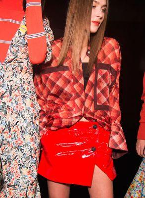 Reinvented Tartans Rule The LFW Catwalks