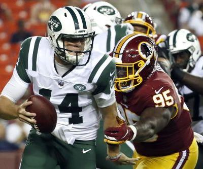 Sam Darnold comes back down to earth in first start as a Jet