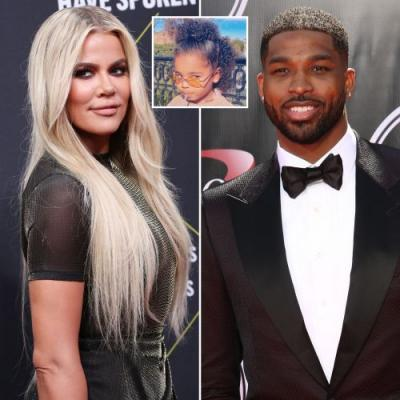 Family Outing! Khloe Kardashian and On-Again Boyfriend Tristan Thompson Have Lunch With Daughter True