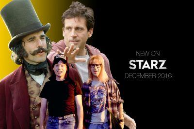 What's New On STARZ December 2016: 'Wayne's World,' 'Gangs Of New York,' 'Dan In Real Life,' And More