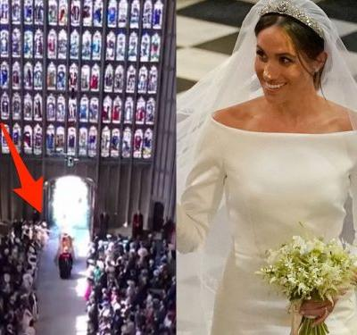 People think Kate Middleton handed Meghan Markle her wedding bouquet - but it's not possible