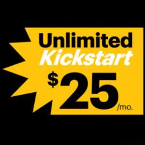 Sprint's Unlimited Kickstart is back, but priced higher at $25 per month