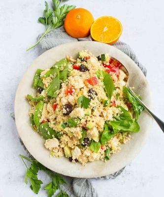 Moroccan Chicken Quinoa Salad Recipe