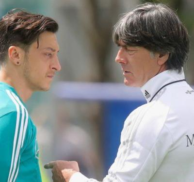 Low not told of Ozil's Germany retirement before announcement