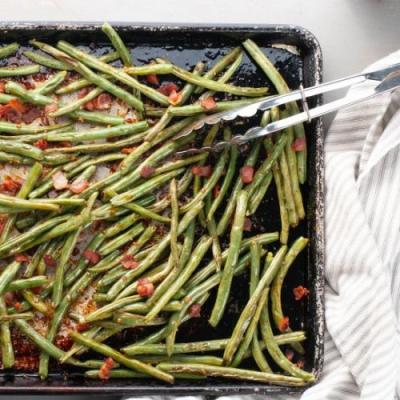 Bacon & Brown Sugar Green Beans