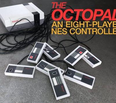 8 Player Octopad NES Controller
