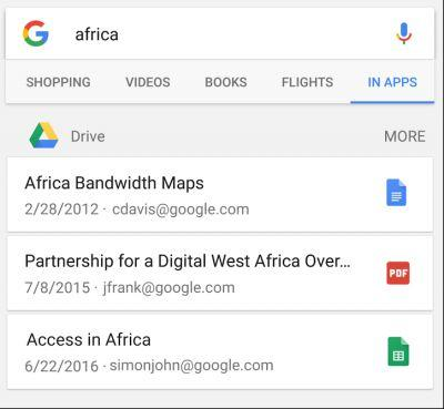 Google Drive Files Can Now Be Found Through The Google App