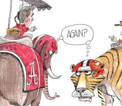 Alabama vs. Clemson for CFP title again: Crowquill