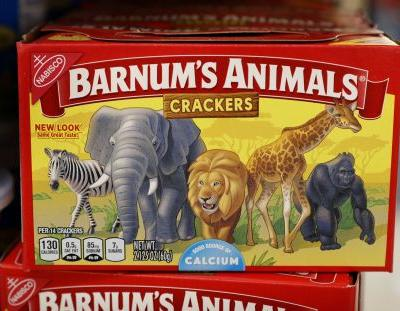 Animal crackers break out of their cages