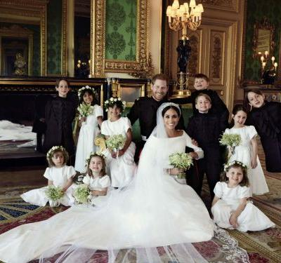 The Reason Why Prince George Was So Smiley In The Official Wedding Portraits