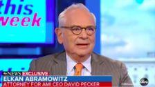 David Pecker's Attorney Claims AMI Threat To Publish Jeff Bezos Pics Wasn't Blackmail