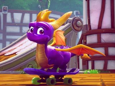Spyro Reignited Trilogy day one update is 19 GB