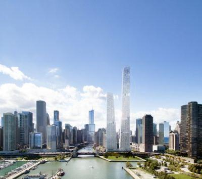 STLArchitects Reveal Competition Design Entry on Former Chicago Spire Site