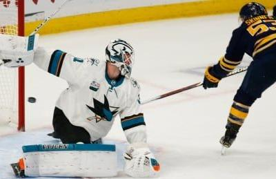 Perfect 10: Sabres edge Sharks in OT for 10th straight victory