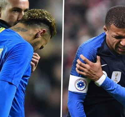 Neymar & Mbappe knocks 'not very serious' in boost for PSG and blow to Liverpool