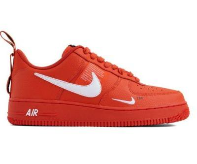 """Nike Air Force 1 07 LV8 Utility Gets Dipped in """"Team Orange"""""""