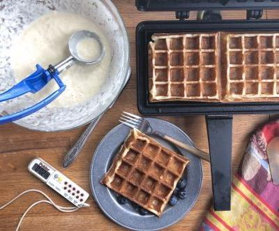 Sourdough Waffles: The ideal use for your discard starter