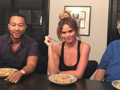 Chrissy Teigen's Dad Got Her Face Tattooed On His Arm For Her 33rd Birthday And We're Living For It