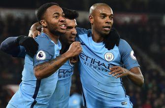 Sterling leads Manchester City over Bournemouth, into second place