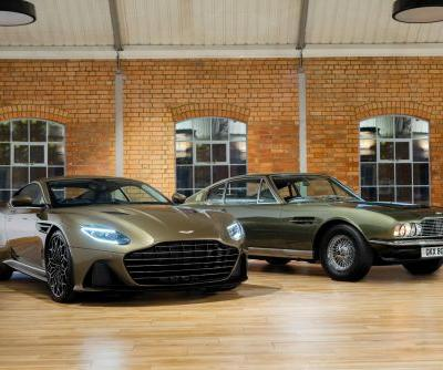 Aston Martin On Her Majesty's Secret Service DBS Superleggera Special Edition Revealed