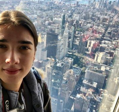 I was one of the first people to view New York City from 1,250 feet in the third phase of the Empire State Building's $165 million renovation. Here's what it was like