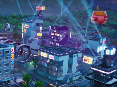 Fortnite Season 9 map changes: Neo Tilted and Mega Mall