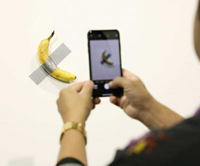 Someone ate a $120,000 banana that an artist had taped to a wall