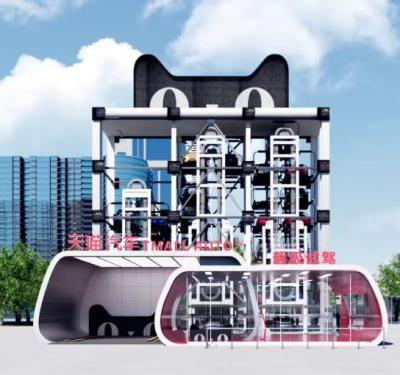 Alibaba will soon begin selling cars using these gigantic vending machines