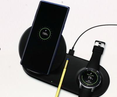 Samsung's Wireless Charger Duo powers up your phone and smartwatch