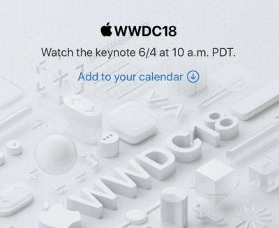 Apple Confirms June 4 WWDC Keynote Will Be Live Streamed