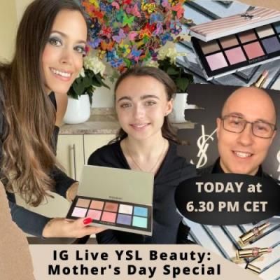 IG Live YSL Beauty: Mother's Day Special