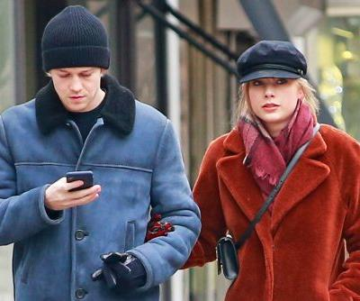 Taylor Swift and Joe Alwyn step out in coordinated outfits