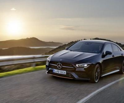 New Mercedes CLA Coupe gets official