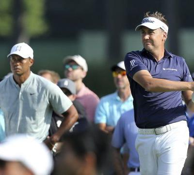 Tiger Woods is paired with fellow-43-year-old Ian Poulter in third round at the Masters