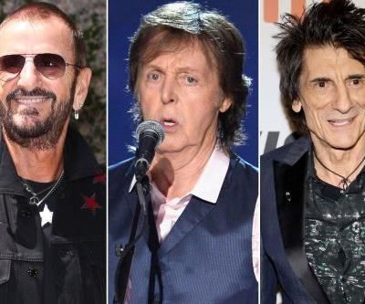 Ringo Starr and Ronnie Wood Join Paul McCartney onstage in London
