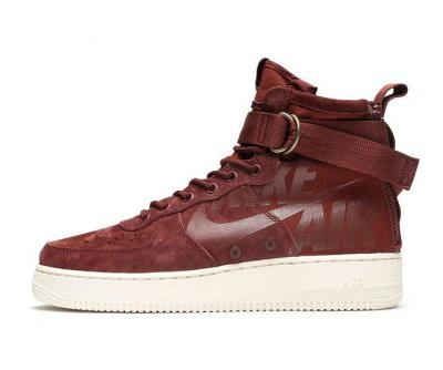 Nike Reworks the SF-AF1 Mid in Burgundy