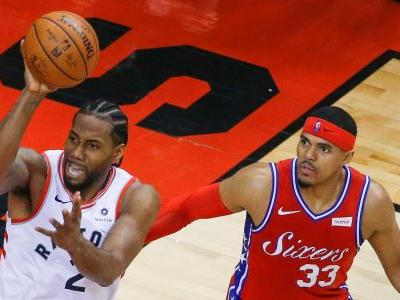 Kawhi Leonard knocks out 76ers with dramatic game-winning shot that bounced on the rim 4 times before falling in
