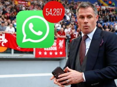Toe Poke Daily: Man gets 54k Whatsapp messages after Carragher tweets his number