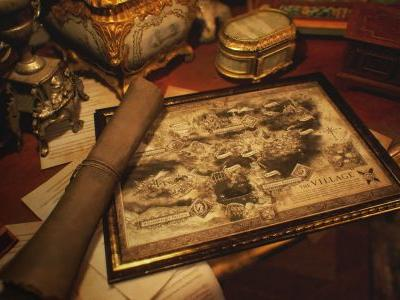 Here's our first peek at Resident Evil Village's map