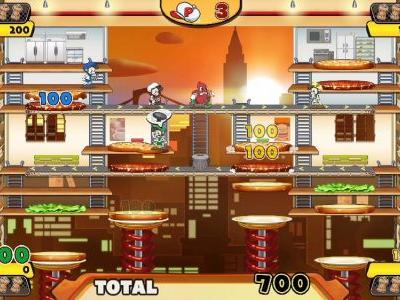 BurgerTime Party! gameplay trailer shows off fun new features