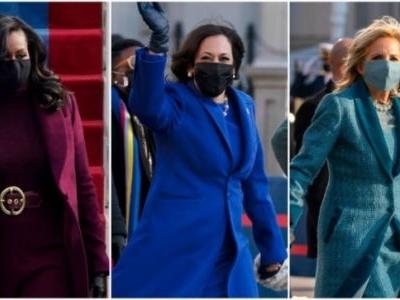 On Inauguration Day 2021, Kamala Harris, Michelle Obama, and colours stood out