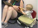 Babies try again when they see adults persist at a task