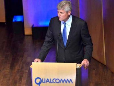 Qualcomm CEO says company is 'on the doorstep' of a resolution with Apple