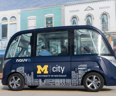 After Mishap in Fall, Madison Driverless Shuttle Demos Get Another Go