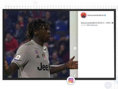 Socialeyesed - Moise Kean makes a stand against racism