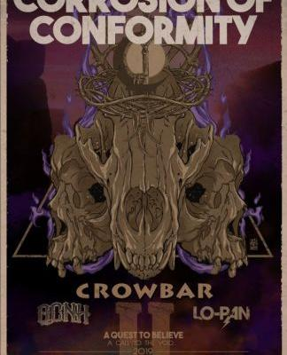 Corrosion of Conformity announce summer 2019 North American tour with Crowbar