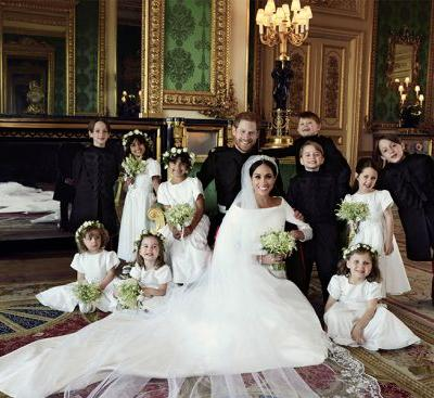 Turns Out, There Is a Reason Prince George Was Smiling so Big in the Royal Wedding Pic