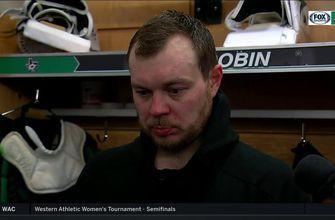 Anton Khudobin talks Stars loss to Golden Knights
