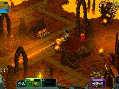 Contest: Win a Steam copy of hellish twin stick shooter I, Dracula: Genesis